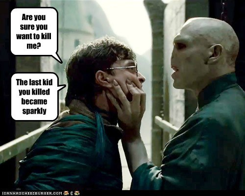 Daniel Radcliffe Harry Potter kill ralph fiennes Sparkle voldemort - 5544427776