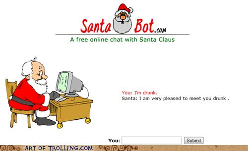 drunk santa santa bot - 5545236480