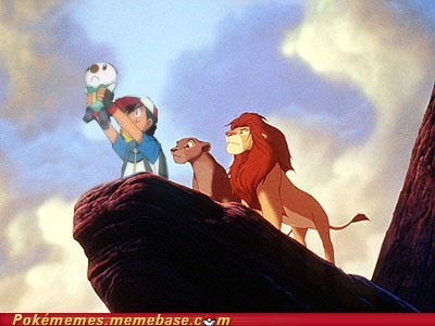 awesome best of week childhood crossover lion king oshawott - 5545247232