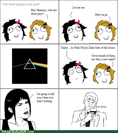 kill,Music,pink floyd,Rage Comics