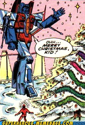 angry best of week christmas starscream Straight off the Page transformers - 5545758720