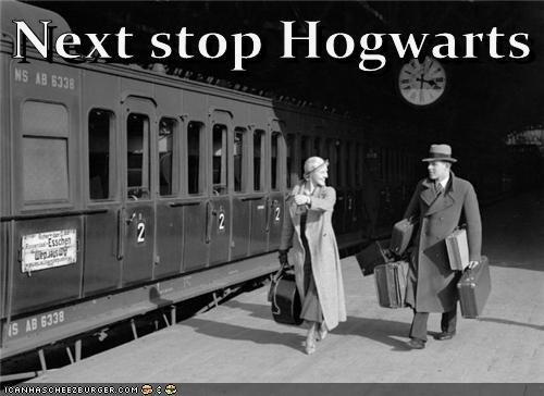 Harry Potter historic lols Hogwarts hogwarts express train vintage