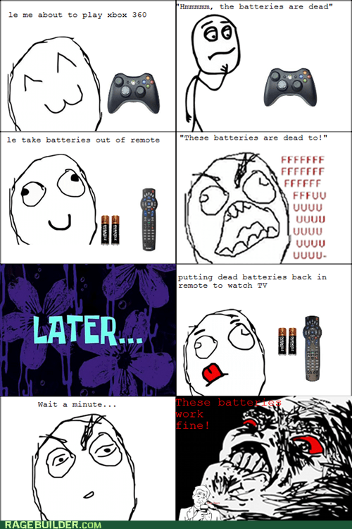 batteries Rage Comics remote wtf xbox - 5545865472
