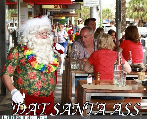 awesome christmas salvation army santa tourist - 5546646016