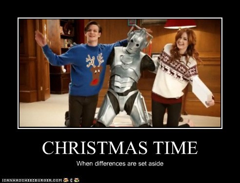 CHRISTMAS TIME When differences are set aside