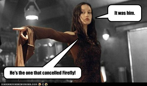 blame,cancelled,Firefly,fox,river tam,summer glau