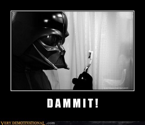 darth vader,hilarious,tooth brush