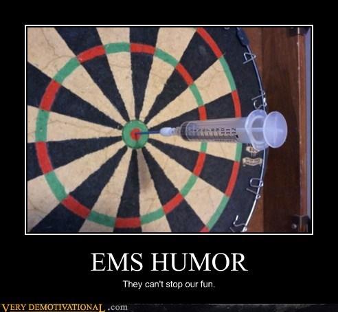 darts,ems,hilarious,humor,needle