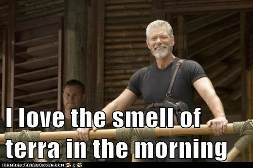 Apocalypse Now commander taylor i love the smell Stephen Lang terra nova