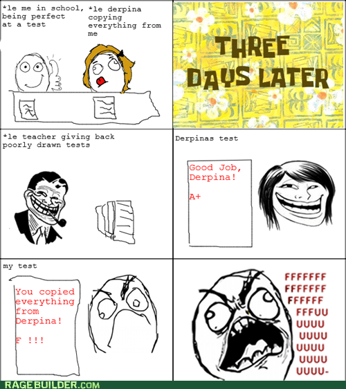 copying Rage Comics test truancy story - 5548982528