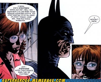 batman dead parents Straight off the Page - 5549166336