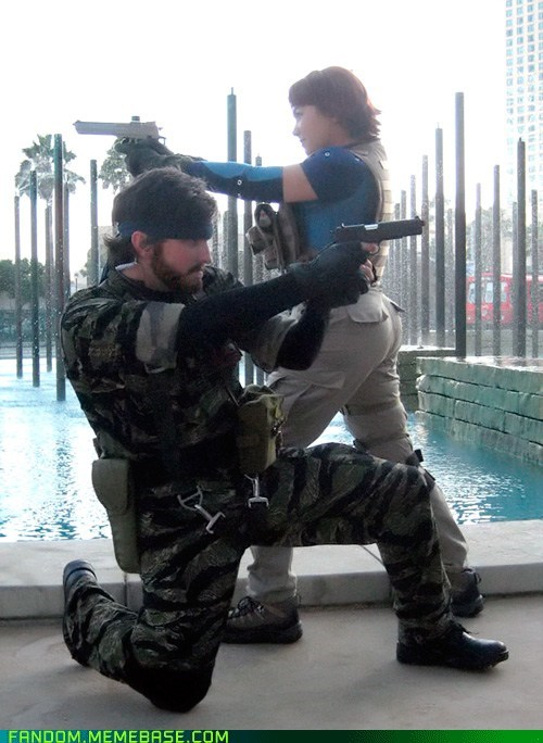 cosplay,metal gear solid 3,naked snake,video games