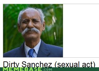 dirty sanchez,Memes,moustache,wikipedia