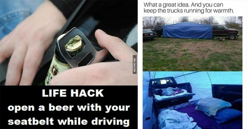 15 Highly Questionable Life Hacks