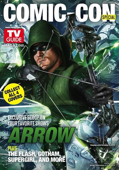 SDCC 2015 arrow DC TV gotham supergirl flash - 555013