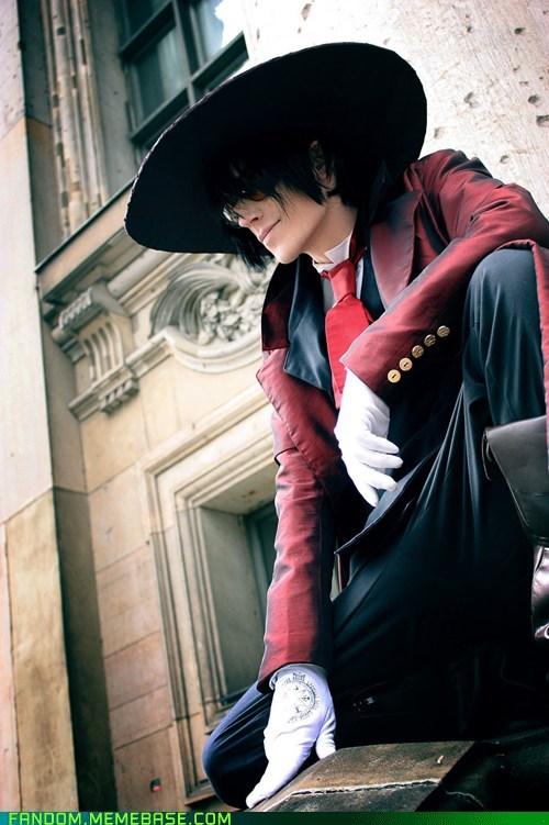alucard cosplay hellsing manga - 5550659840
