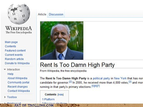 Party,too high,wikipedia