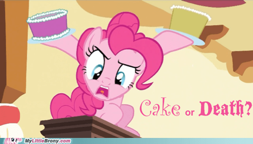 best of week cake cake or death i dunno lol Party pinkie pie spike tea TV - 5550764544