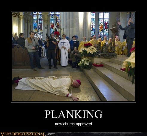 church,hilarious,Planking,priest,wtf