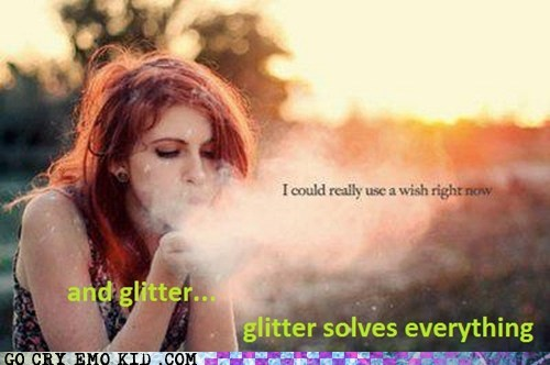 glitter,photography,weird kid,wish
