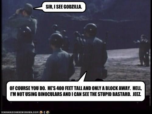 giant godzilla Mystery Science Theatre stupid - 5552154624