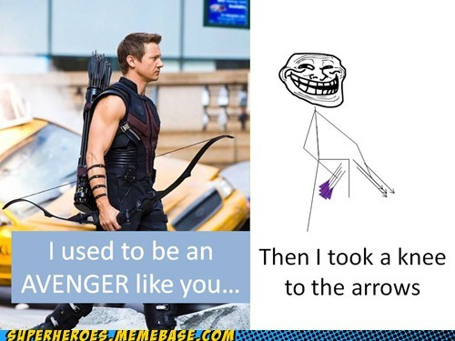 arrow avengers hawkeye knee Skyrim Super-Lols - 5552646656