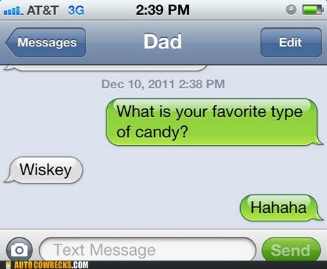 alcohol candy dad drinking parenting whiskey