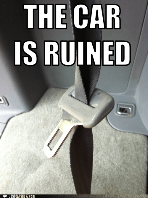 car damn it kelly blue book ruined seatbelt