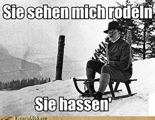 funny haters gonna hate historic lols hitler meme Photo - 5553911040