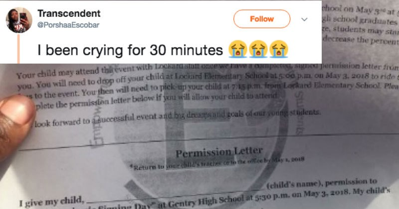 school FAIL kid slip forgery sneaky parenting permission slip handwriting forgery fail permission funny - 5553925