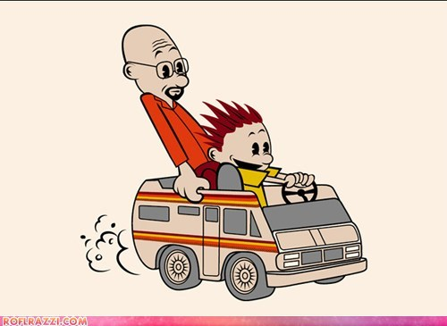 art awesome breaking bad calvin and hobbes cool funny - 5554158592