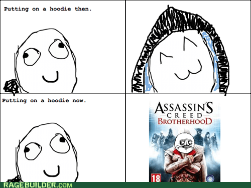 assassins creed hoodie Rage Comics video games