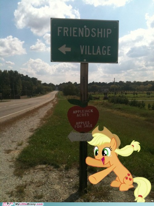 applejack acres apples best of week friendship friendship village IRL - 5554327040