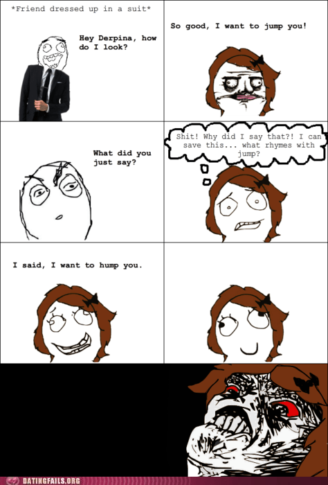 dating freudian slip g rated humping rage comic slip of the tongue We Are Dating - 5554420992