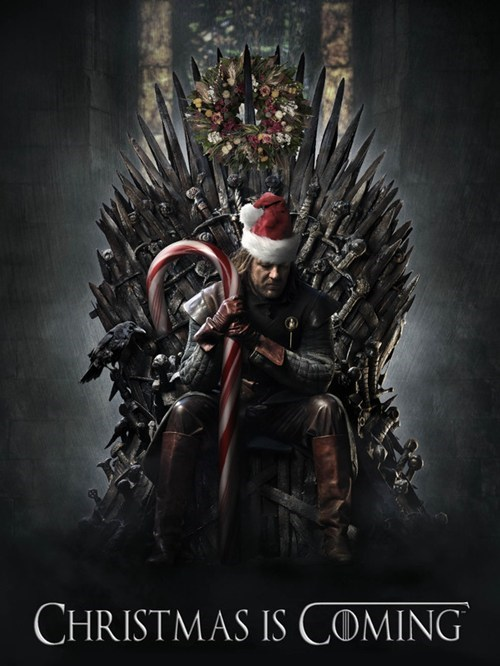 candy candy cane christmas Game of Thrones g rated pop culture sci fi Sketchy Santa - 5554605568