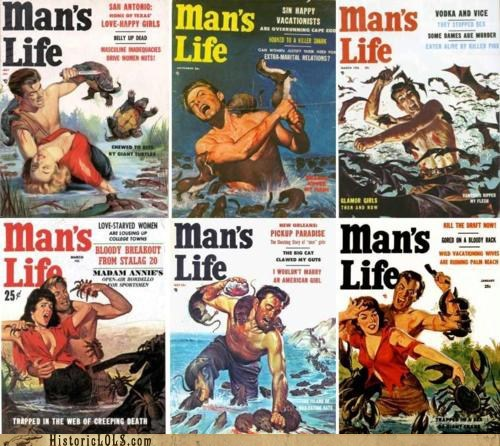 art funny historic lols illustration magazine mans-life - 5554617088