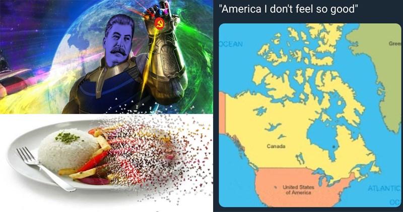 Funny Infinity War disintegration memes, avengers infinity war, marvel memes, thanos.