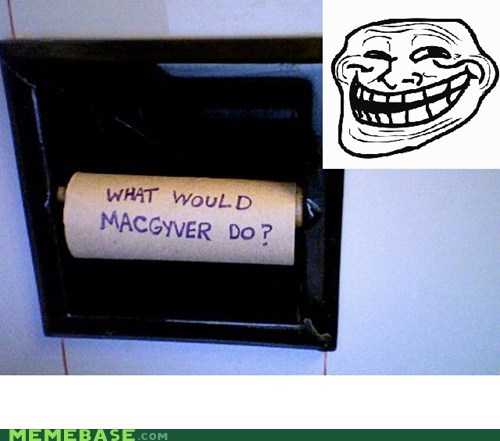 best of week empty IRL macgyver toilet paper - 5555106048