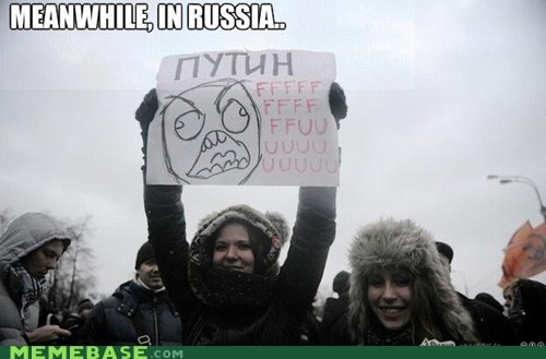 Protest,Rage Comics,russia,whatever