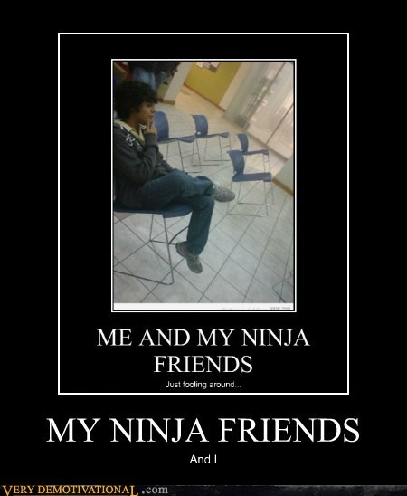 MY NINJA FRIENDS And I