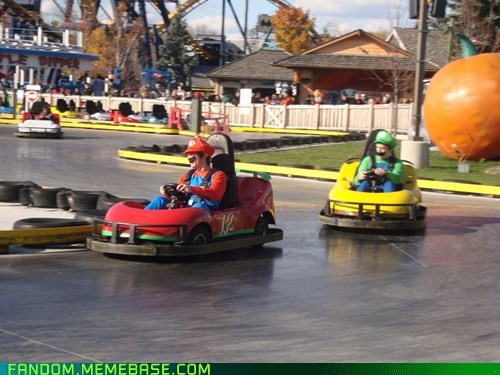 cosplay IRL Mario Kart video games - 5555771392