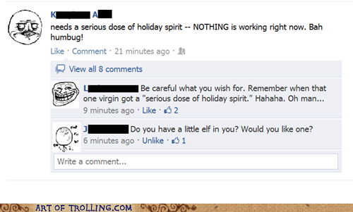 Christmas Spirit,facebook,naughty,that sounds naughty
