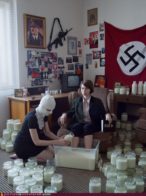 milk,nazis,wtf