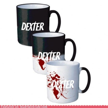coffee cup Dexter Heat logo mug TV - 5556582144
