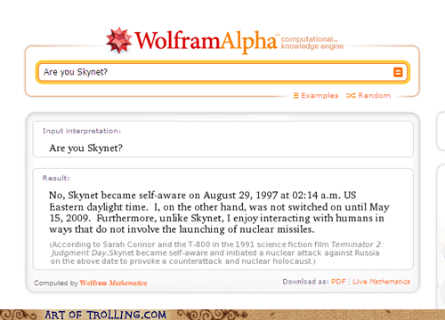 human interaction,skynet,wolfram alpha