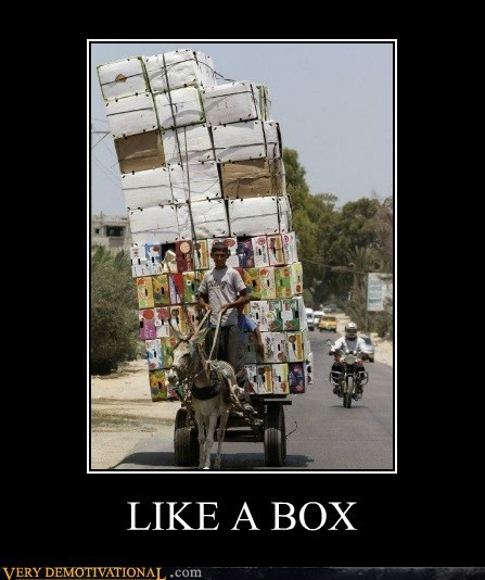 box cart hilarious Like a Boss wtf