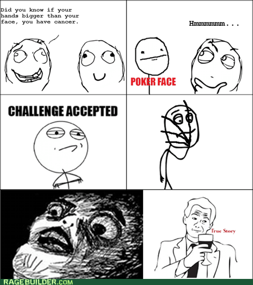 cancer hands Rage Comics wtf