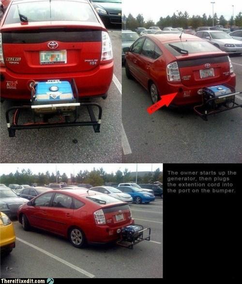 cars dual use generator hybrid - 5557993472