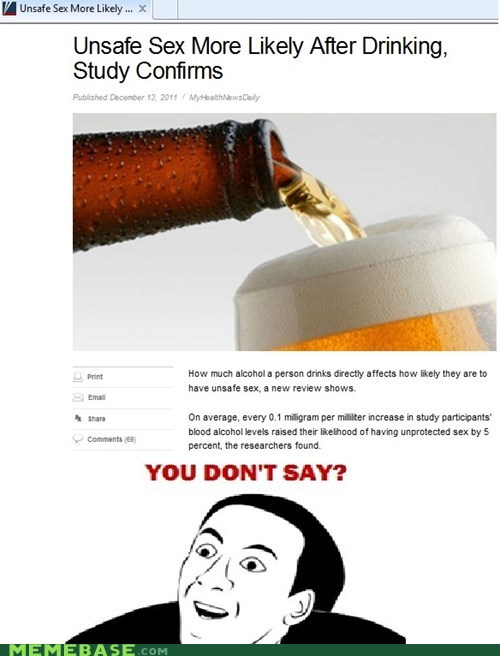 beer drinking just-kidding-kids-dont-d nick cage Rage Comics sex - 5558905344