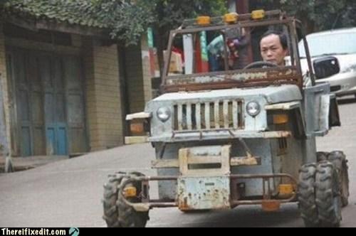 cars China jeep wheels wtf - 5559176192